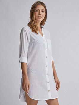 dorothy-perkins-beach-shirt-white