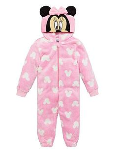 minnie-mouse-girls-hood-detailnbspall-in-one-pink