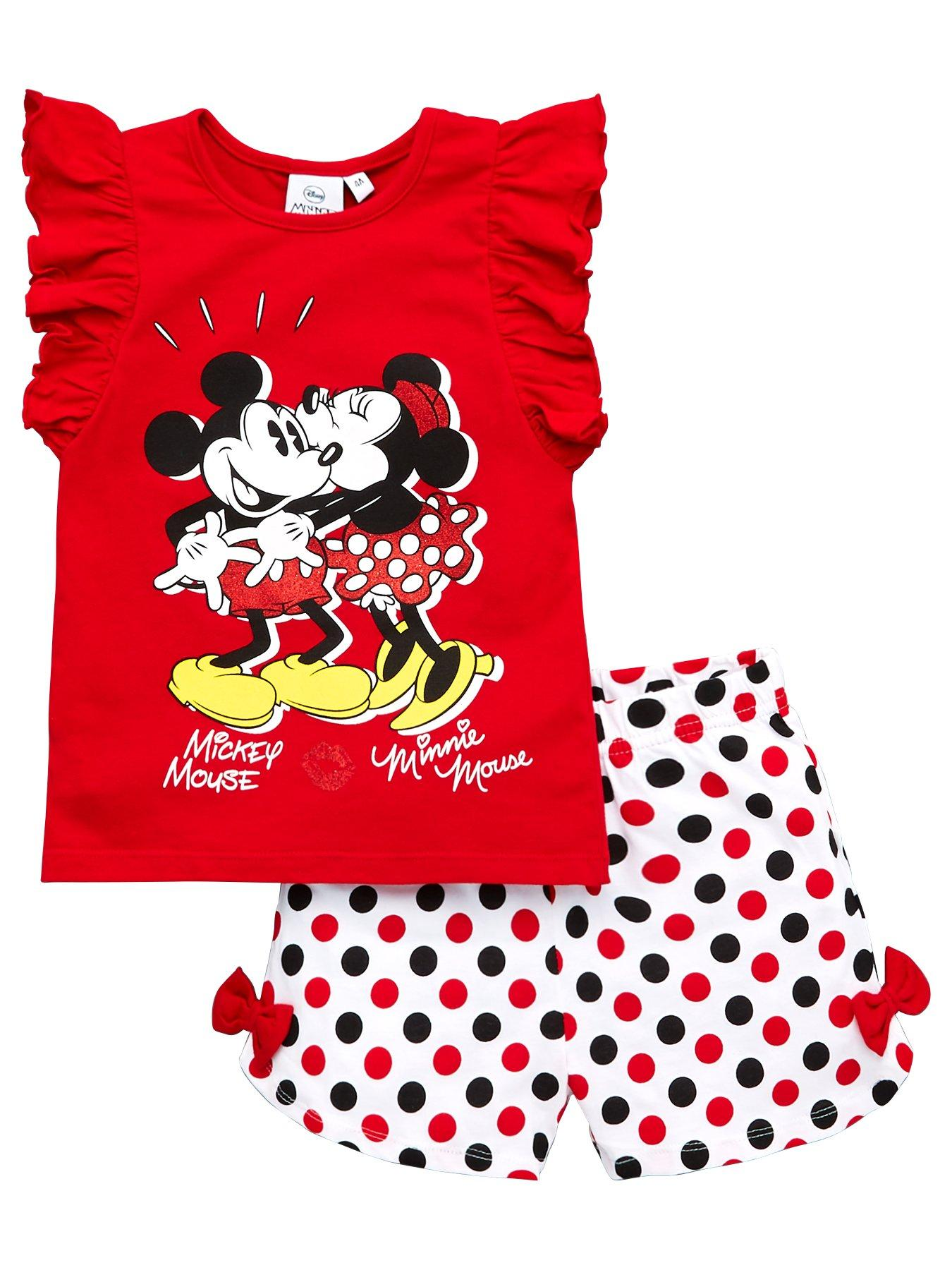 9-12 18-24 MONTHS DRESSING GOWN /& SLIPPERS BABY GIRLS MINNIE MOUSE GIFT SET