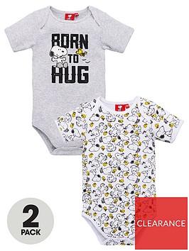snoopy-baby-boynbsp2-pack-born-to-hug-bodysuits-multi