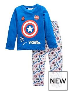 marvel-boys-marvel-captain-america-long-sleeve-pjs-blue