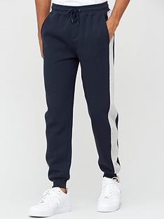 v-by-very-essential-side-stripe-jogger-navy