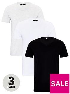very-man-essentials-3-pack-v-neck-t-shirt-whiteblackgrey
