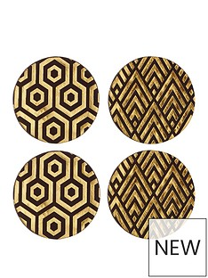 premier-housewares-geome-deco-coasters-ndash-set-of-4