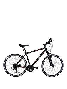romet-romet-orkan-2-gents-trekking-bike-20-inch-700c-black-orange