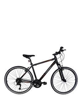 romet-romet-orkan-2-gents-trekking-bike-18-inch-700c-black-orange