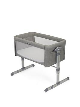 Joie Baby Joie Roomie Glide Bedside Crib-Foggy Grey