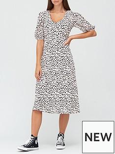 v-by-very-curve-seam-floaty-midi-dress-spot-print