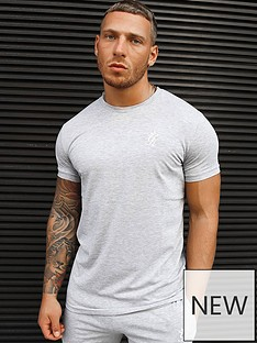 gym-king-basis-origin-t-shirt-grey-marl