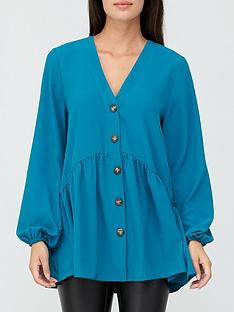 v-by-very-button-through-tunic-blue
