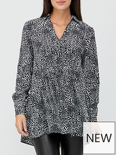 v-by-very-collar-button-through-tunic-print