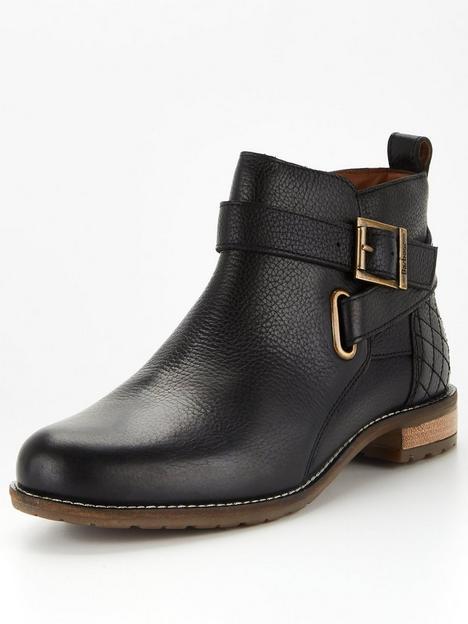 barbour-jane-leathernbspankle-boots-black