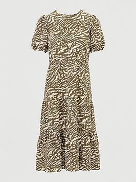 v-by-very-tiered-printed-midi-dress-print