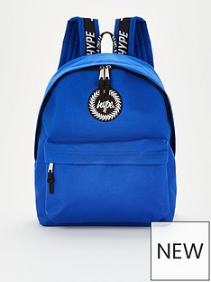 hype-boysnbsptaping-backpack-blue