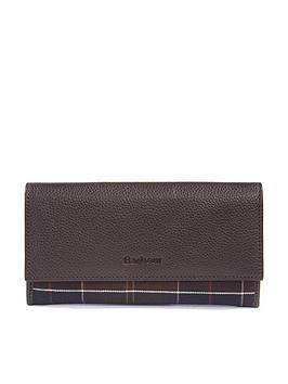 barbour-leather-convertible-wallet-brown