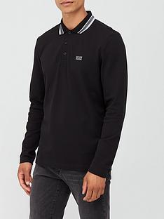 boss-plisy-tipped-collar-long-sleeve-polo-shirt-black