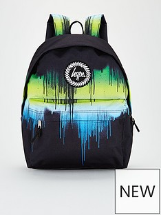 hype-boys-multi-drip-backpack-black