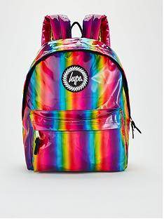 hype-girls-rainbow-holographic-backpack-multi