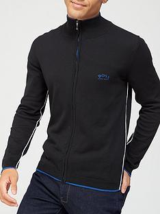 boss-zoston-knitted-zip-through-jacketnbsp--black