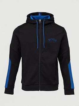 boss-saggy-zip-through-hoodie-black