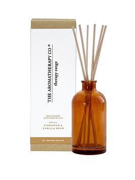 the-aromatherapy-co-therapy-range-ndash-balance-cinnamon-amp-vanilla-bean-reed-diffuser