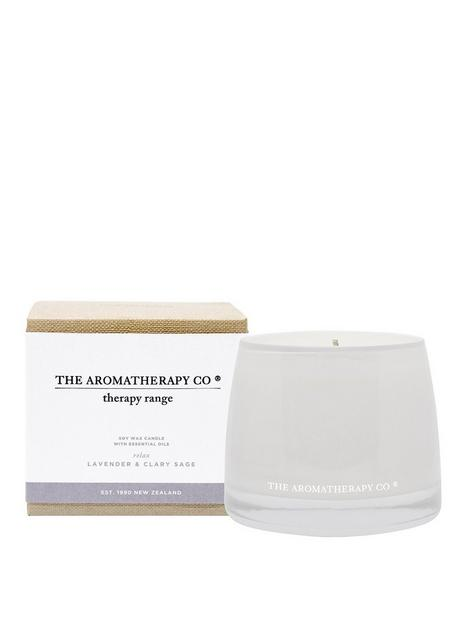 the-aromatherapy-co-therapy-range-ndash-relax-lavender-amp-clary-sage-candle