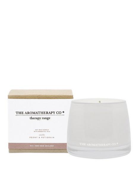the-aromatherapy-co-therapy-range-ndash-soothe-peony-amp-petigrain-candle