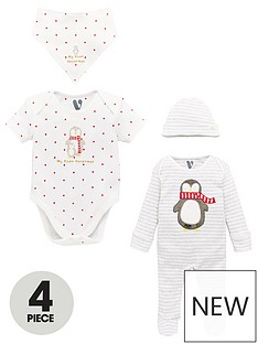v-by-very-baby-unisex-christmas-penguin-4-piece-set-multi