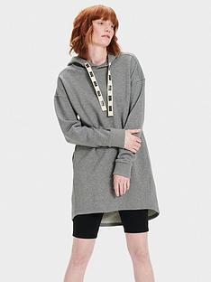 ugg-lucille-hoodie-dress-grey
