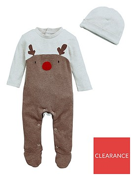 v-by-very-baby-unisex-2-piece-reindeer-christmas-sleepsuit-and-hat-set-multi