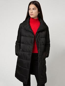 hugo-fasara-padded-jacket-black