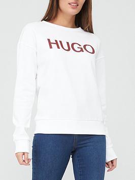 hugo-nakira-printed-crew-sweat-white