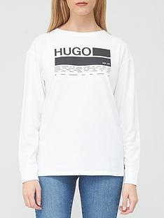 hugo-dealana-box-logo-crew-sweat-top-white