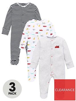 v-by-very-baby-boys-3-pack-transport-stripe-sleepsuits-multi