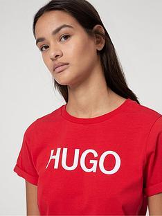 hugo-logo-slim-t-shirt