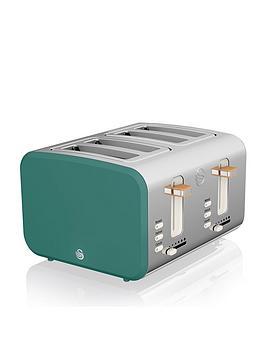 swan-nordic-4-slice-toaster-green