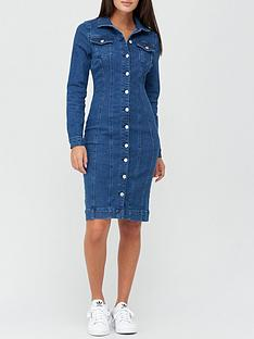 v-by-very-long-sleeve-denim-shirt-dress-mid-wash