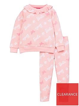 barbie-girls-barbie-2-piece-frill-sweatshirt-and-legging-set-pink