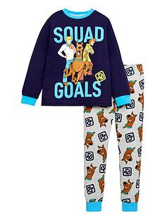 scooby-doo-boysnbspsquad-goals-long-sleeve-pjs-navy