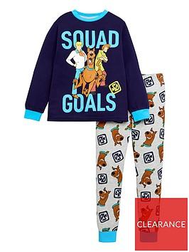 scooby-doo-boysnbspsquad-goals-long-sleeve-pjs-navy