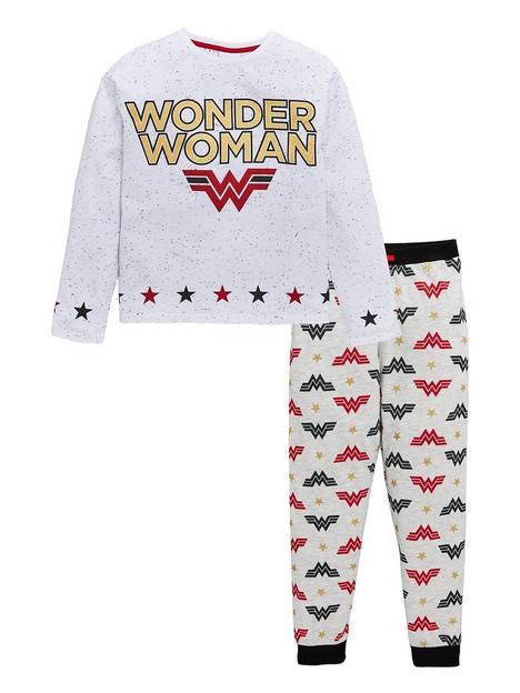 wonder-woman-girls-glitter-print-pjs-multi