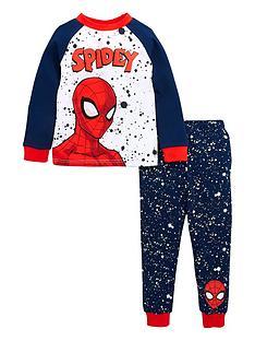 spiderman-boys-spiderman-spidey-raglan-long-sleeves-pjs-multi