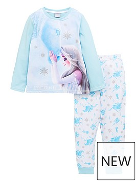 disney-frozen-girls-disney-frozennbspelsa-and-nokk-long-sleeve-pjs-blue