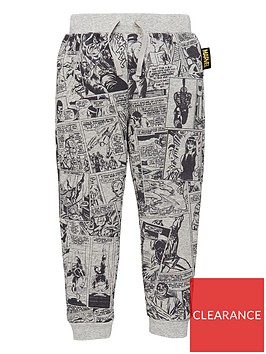 marvel-boys-marvel-comic-strip-print-joggers-grey