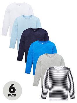 v-by-very-boys-6-pack-long-sleeve-t-shirts-multi