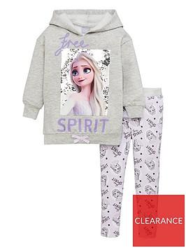 disney-frozen-girls-2-piece-elsa-free-spirit-flip-sequin-hoodie-and-legging-set-grey