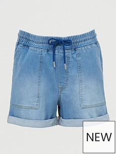 v-by-very-denim-jogger-short-mid-wash