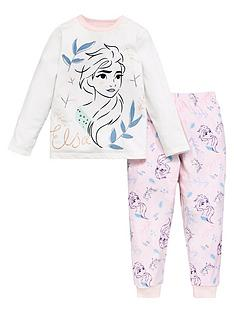 disney-frozen-girlsnbspelsa-fleece-long-sleeve-pjs-pink