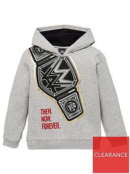 wwe-boys-mock-belt-hoodie-grey