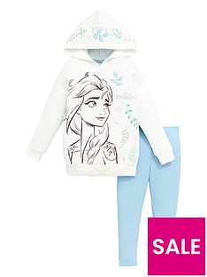 disney-frozen-girlsnbsp2-piece-elsa-follow-your-dream-hoodie-and-jegging-set-white